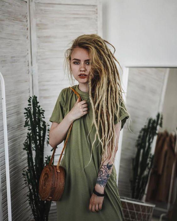 dreadlocks rajouts extensions cheveux humains