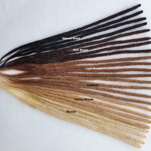 Dreadlocks extensions cheveux naturels humains lisses