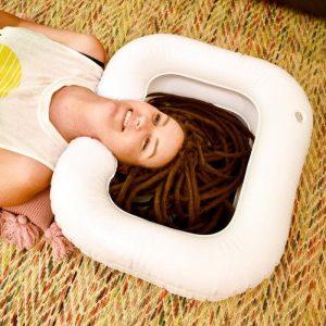 bassin gonflable détox nettoyage profondeur dreadlocks