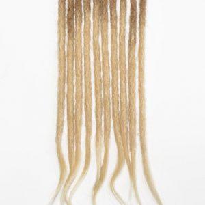 Blond ombré cheveux naturels dreadlocks extensions