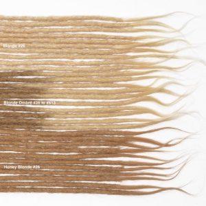 blond cheveux naturels dreadlocks extensions