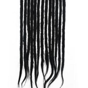 noir cheveux naturels dreadlocks extensions